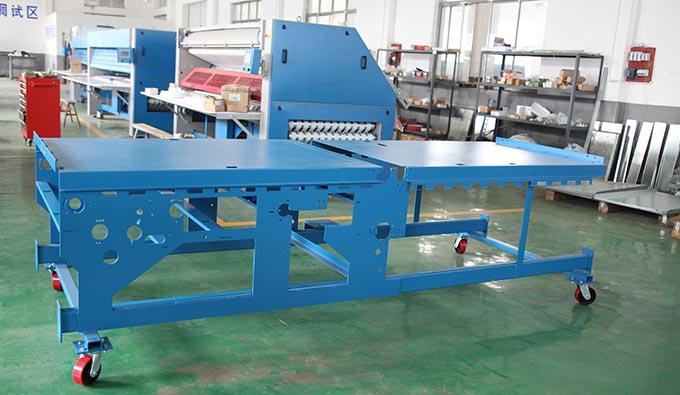 折叠机机架整体焊接